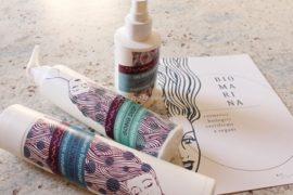 Bio Marina: Olio Illuminante, Shampoo e Crema Balsamo Ristrutturante