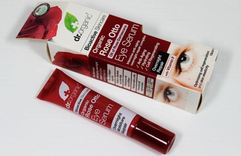 Packaging Eye Serum Rose Otto Dr Organic