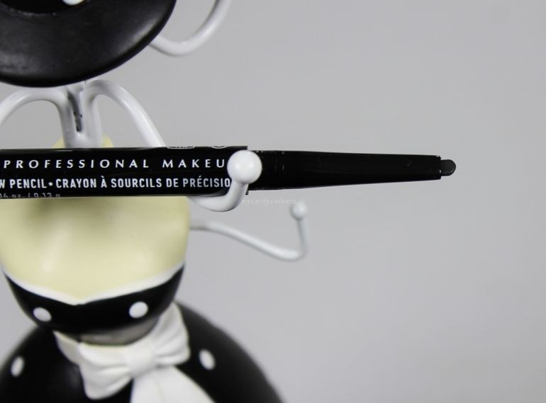 Punta matita per sopracciglia Precision Brow Pencil Nyx col. Black