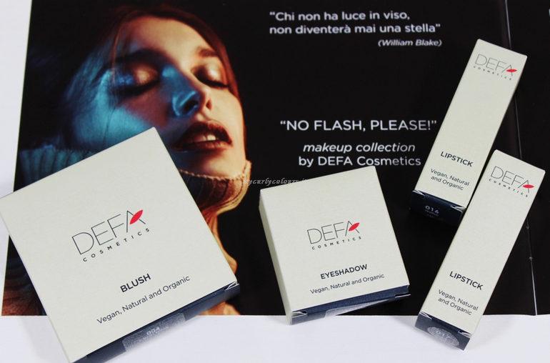 Collezione No Flash, Please! Defa Cosmetics