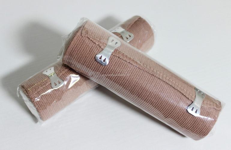 Dettaglio bende Fango Eco Masters Body Wrap
