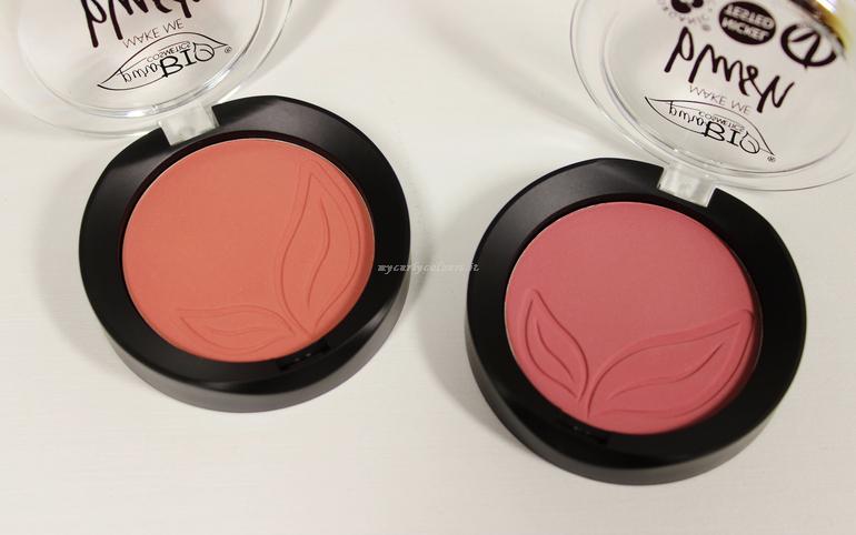 Blush 05 e 06 Novità collezione P/E 2018 PuroBio Cosmetics