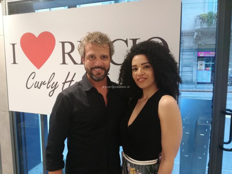 Mycurlycolours e Fulvio Tirrico da I Love Riccio