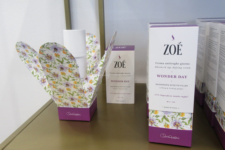 Nuovo packaging Zoè Cosmetics