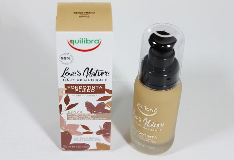 Fondotinta Liquido Love's Nature Equilibra