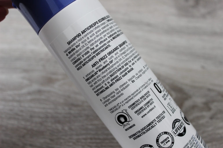 Specifiche Shampoo Anticrespo trico Bio Ricci Perfetti L' Erboristica di Athena's