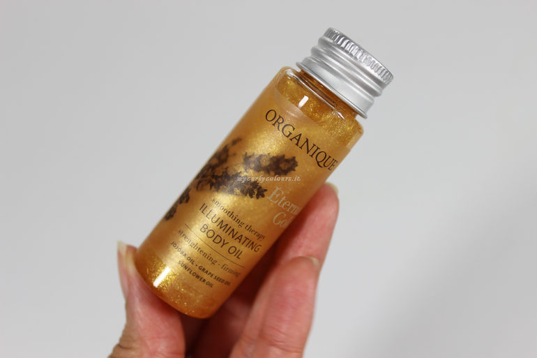 Packaging Illuminating Oil Eternal Gold Organique