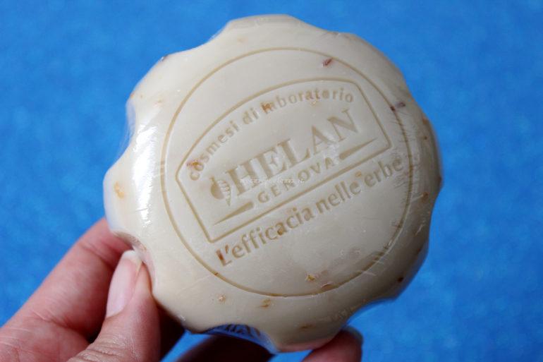 Dettaglio Massaggio di sapone vegetale Helan