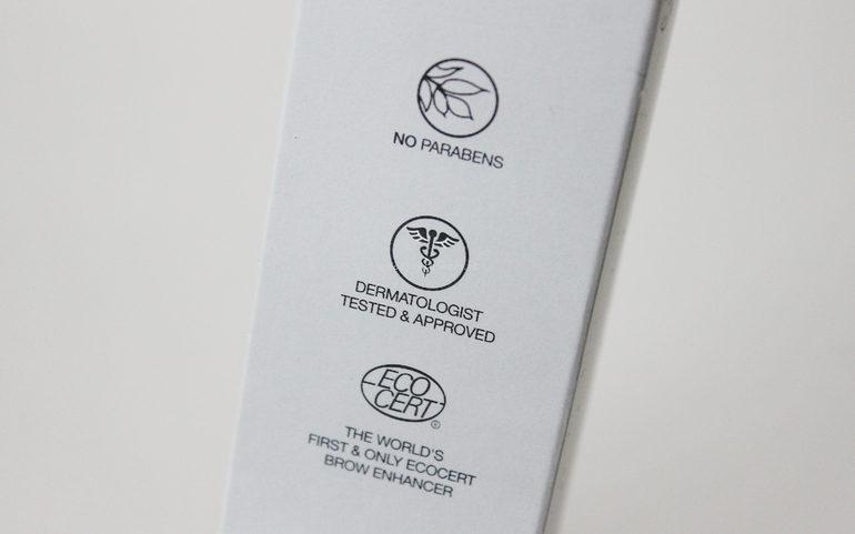 Certificazioni e test Siero per sopracciglia Eyebrow Enhancer BrowFood LashFood