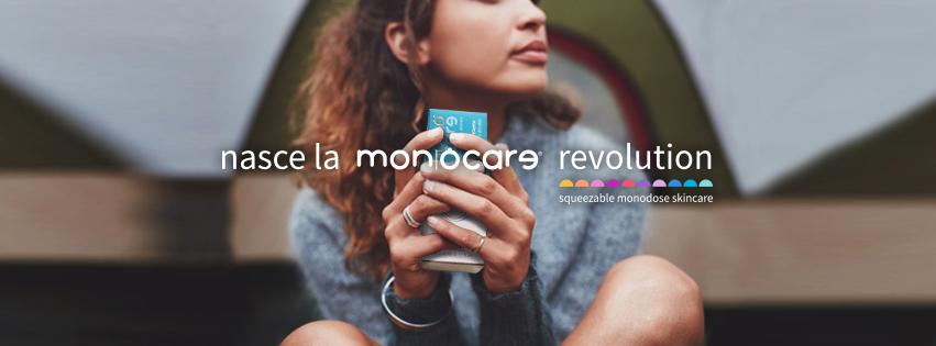 Monocare Revolution squeezable monodose skincare