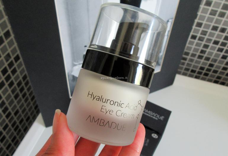 Dettaglio pack Contorno Occhi Hyaluronic Acid Eye Cream Ambadué