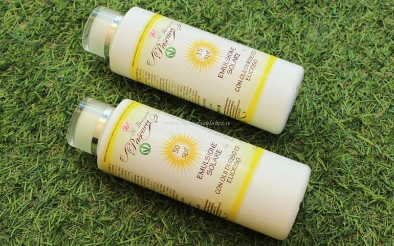 Emulsione corpo Spf 30 e 50 Fitocosmetici Pascucci