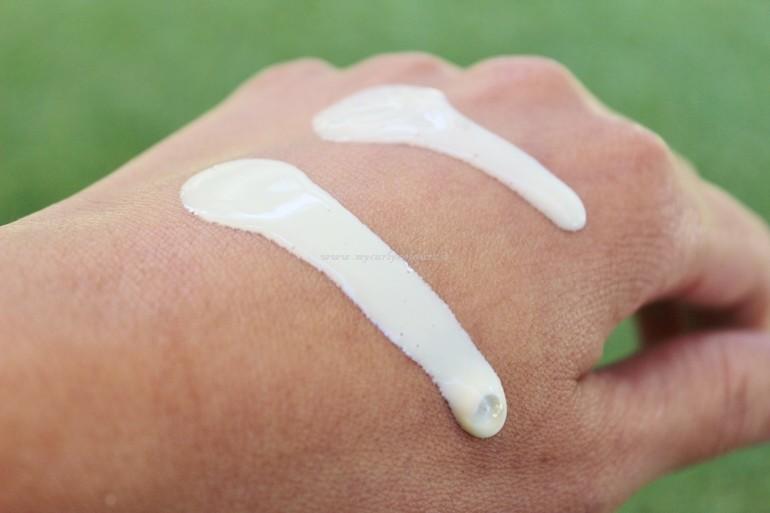 Texture emulsione corpo Fitocosmetici Pascucci