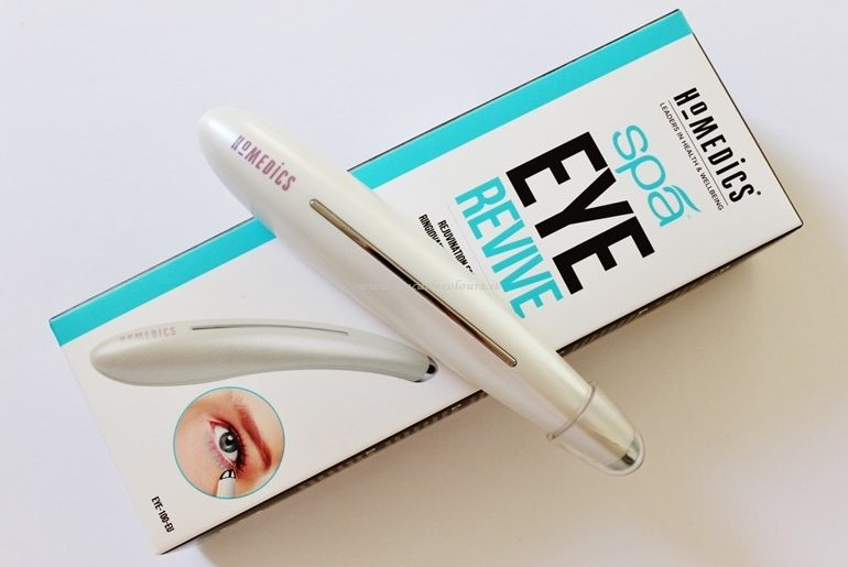 Packaging Homedics Eye revive