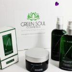 Pacco con i prodotti Dr Alkaitis da Green Soul Cosmetics