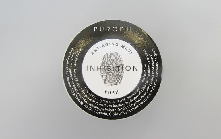 Packaging maschera monouso Purophi