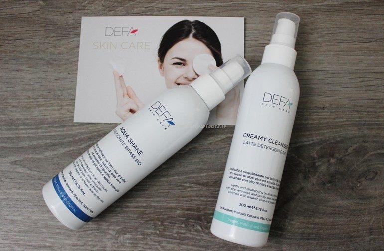 Novità skin care Defa Cosmetics