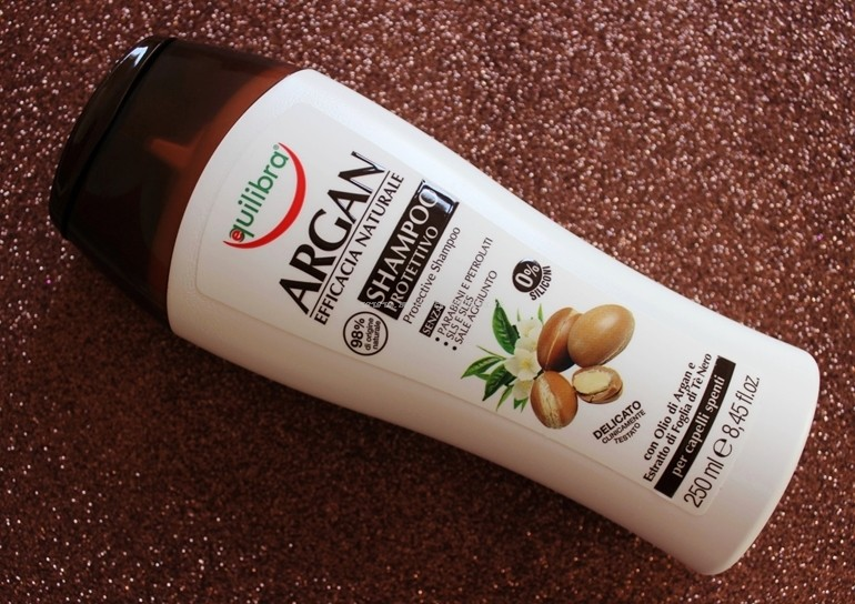 Shampoo Argan Equilibra