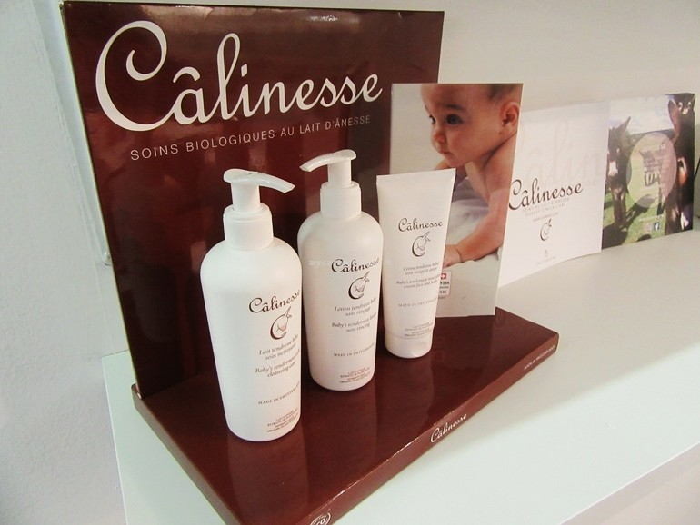Calinesse donkey milk Cosmoprof Bologna