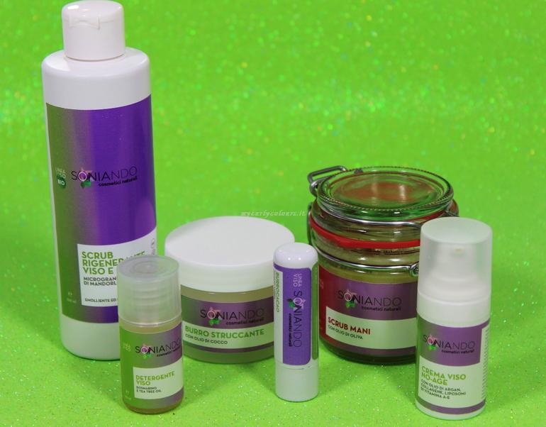 Prodotti Soniando viso e corpo