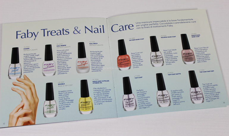 Treats and Nail Care Faby