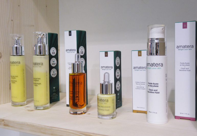 Prodotti Amatera Extraordinary Gallery Green Cosmoprof 2018