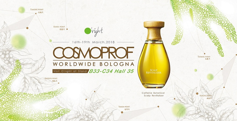 O'Right cosmoprof 2018