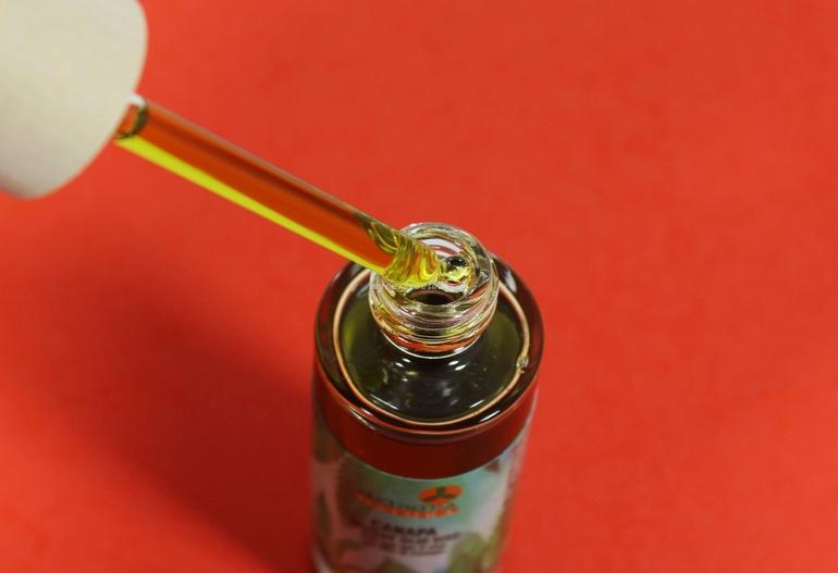 Dettaglio packaging Canapa Beltade Olio Viso Alchimia Natura