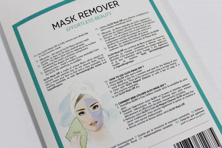Specifiche Mask Remover Glov