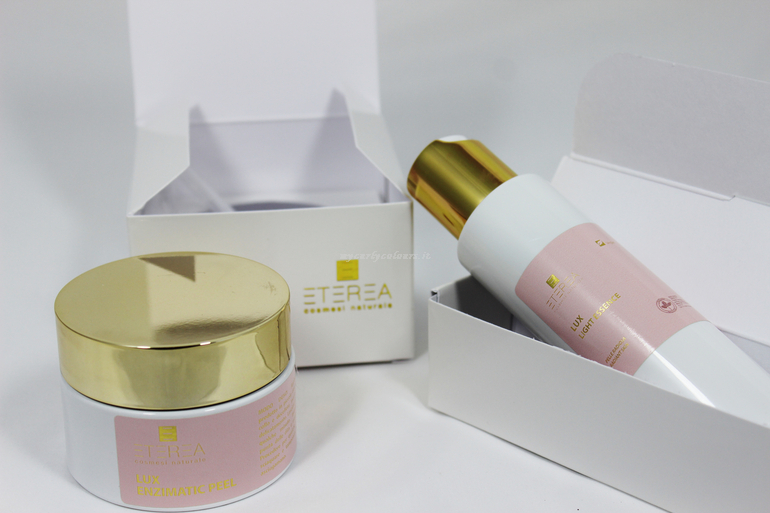 Dettaglio packaging novità Eterea Cosmesi Lux