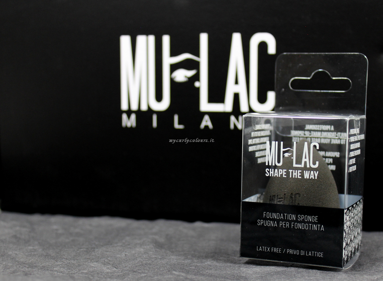 Make up sponge Shape The Way Mulac Cosmetics