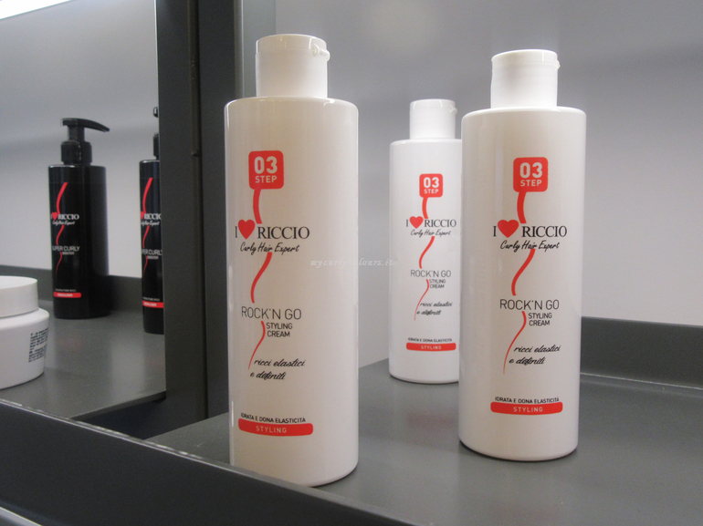 Styling Cream Rock 'n Go I Love Riccio