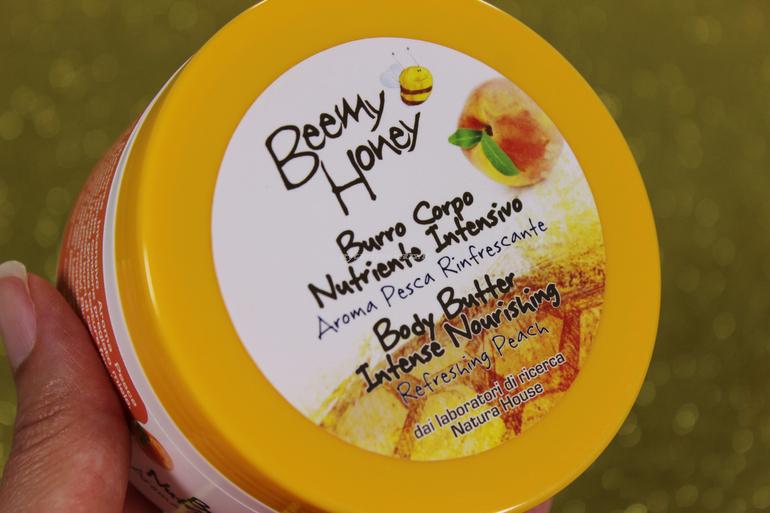 Burro Corpo Nutriente Intensivo alla Pesca Beemy Honey Natura House
