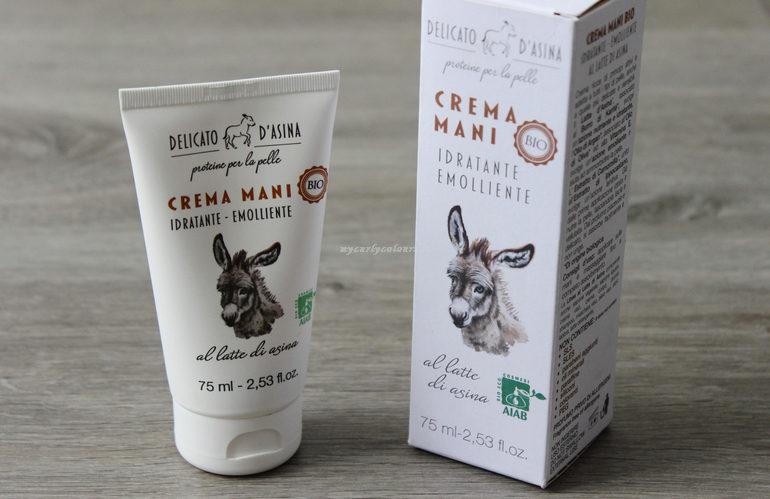 Crema mani Delicato d'Asina La Dispensa