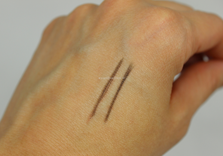 Swatch Ultra Fine Brow Pencil Duo BrowFood LashFood col Charcoal