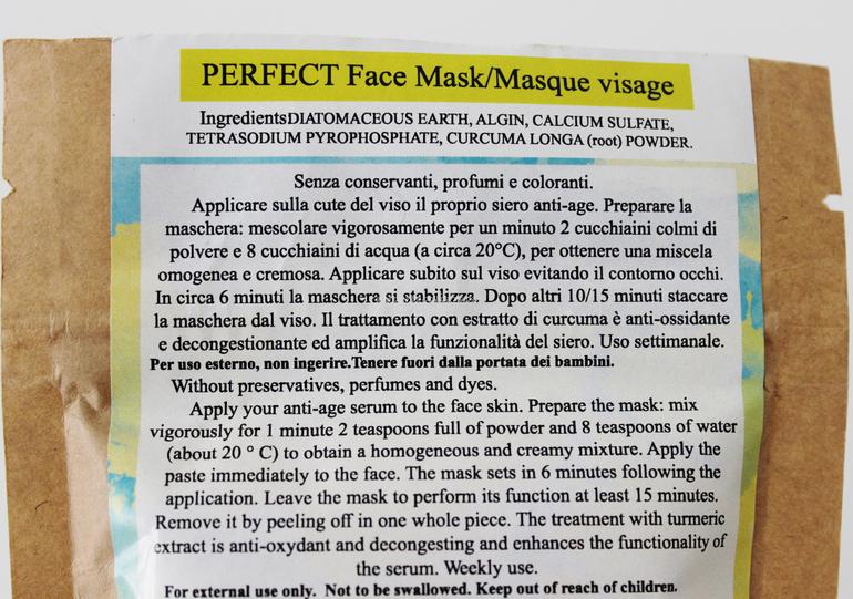 Specifiche e Inci Maschera Perfetta Eversus Natura