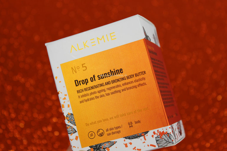 Packaging Drop of sunshine Alkemie