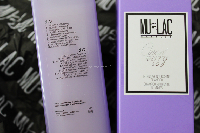 Creme'Berry 10 Mulac Hair packaging