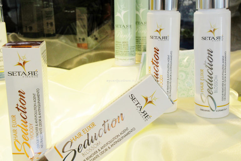 Hair Elixir Seduction Blossom Setarè novità SANA 2018