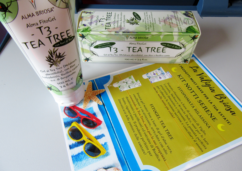 Alma FitoGel T3 Tea Tree Kit Notti Serene Alma Briosa