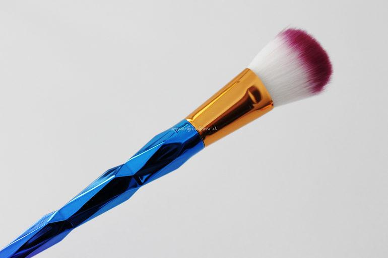 Dettaglio singolo pennello Unicorn Makeup Set BeautyBigbang