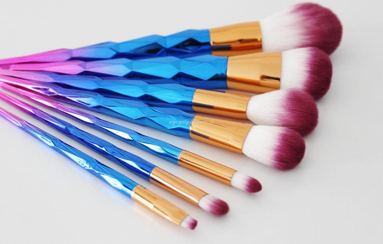 Dettaglio pennelli Unicorn Makeup Set BeautyBigbang
