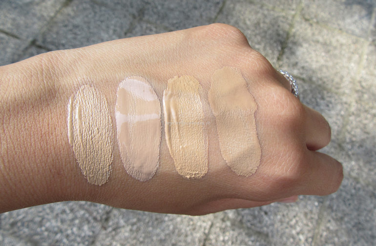 Swatch Sublime Fondotinta e Sublime Drop Foundation 02 e 03 semi sole
