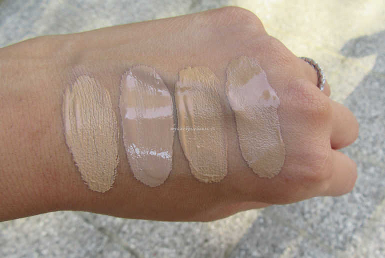 Swatch Sublime Fondotinta e Sublime Drop Foundation 02 e 03 semi ombra