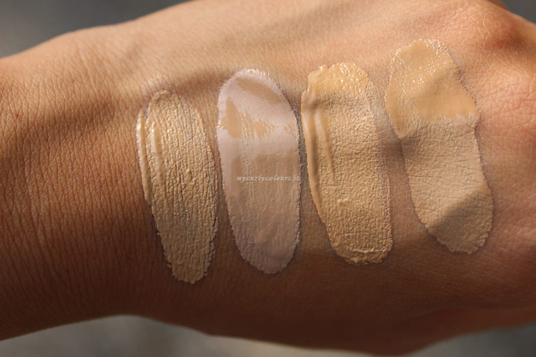 Swtatch Sublime Fondotinta e Sublime Drop Foundation 02 e 03 al sole