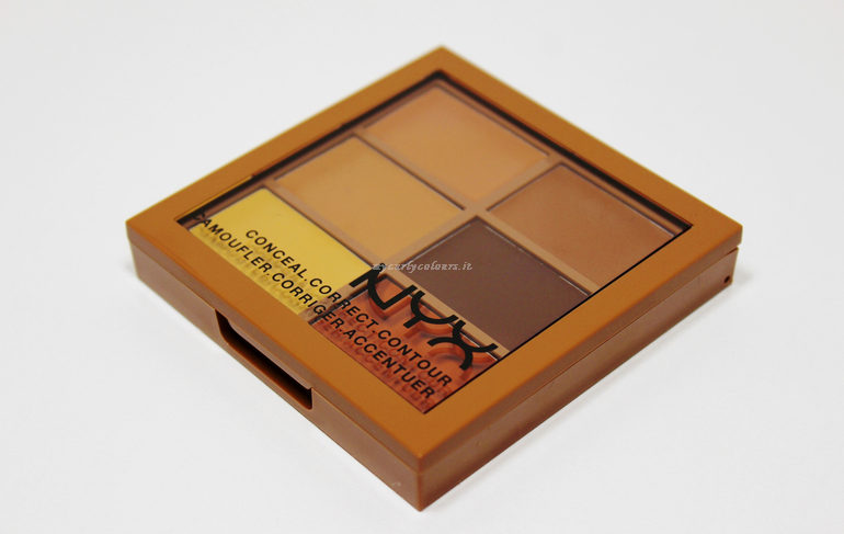 Packaging Conceal, Correct, Contour Palette NYX col. 03 Deep