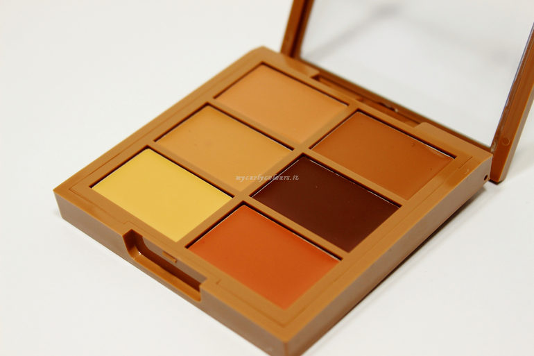 colori Conceal, Correct, Contour Palette NYX col. 03 Deep