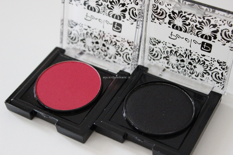 Eye Shadow 43 Purple Red e 44 Black Diamond Smokey Season FW18 Paola P