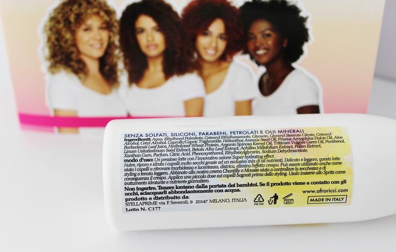 Inci Vaniglia Hair Milk Latte per capelli AfroRicci