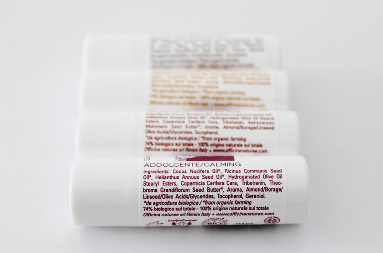 Burro Labbra Officina Naturae packaging